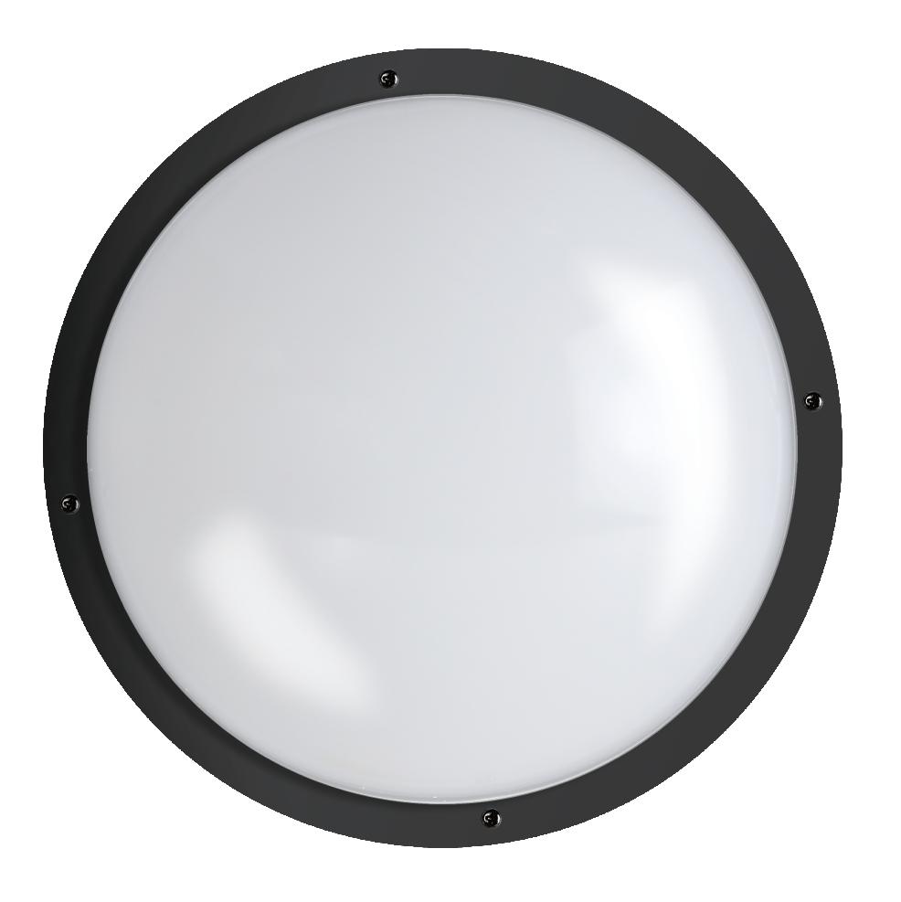 "Shorebreaker® 10"" Outdoor Light - Round Black"