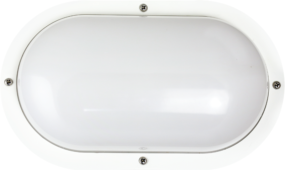 "Shorebreaker® 10"" Color Preference® Outdoor Light - Oval White"