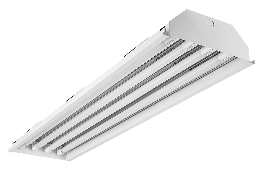 4' Linear 4-lamp T8 Type B Power Either End High Bay Fixture Body
