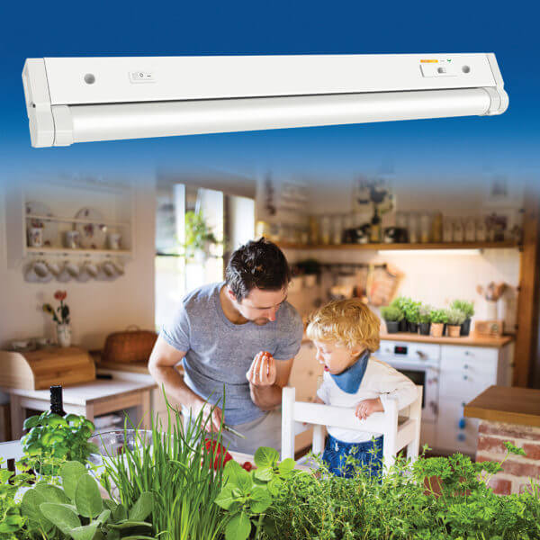 """53508101 - Grow Elite® 18"""" Adjustable LED Under Cabinet Light"""